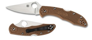 Delica4 Lightweight Brown FRN Flat Ground PlainEdge.. MAP $84.00