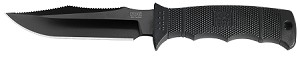 SEAL PUP ELITE NYLON SHEATH BLACK TINI BLADE PLAIN