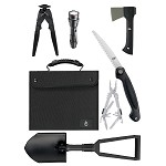 Offered Survival Kit/SUV Kit, Black Nylon Case