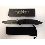 Predator Black Tactical Serrated