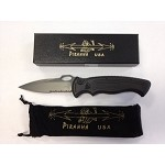 Hybrid Black Tactical Serrated