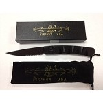 Virus Black Tactical Serrated