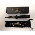MINI GUARD TACTICAL BLACK SERRATED