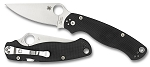 ParaMilitary2 Black G-10 PlainEdge..  MAP $154.70