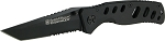 S&W Extr Ops /Black Serrated Tanto Blade/Black Handle w/ Pocket Clip